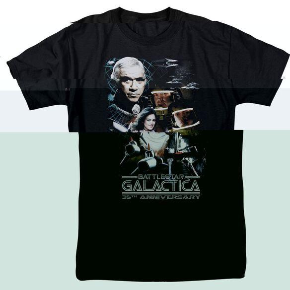 BSG 35TH ANNIVERSARY COLLAGE-S/S ADULT 18/1 - BLACK T-Shirt