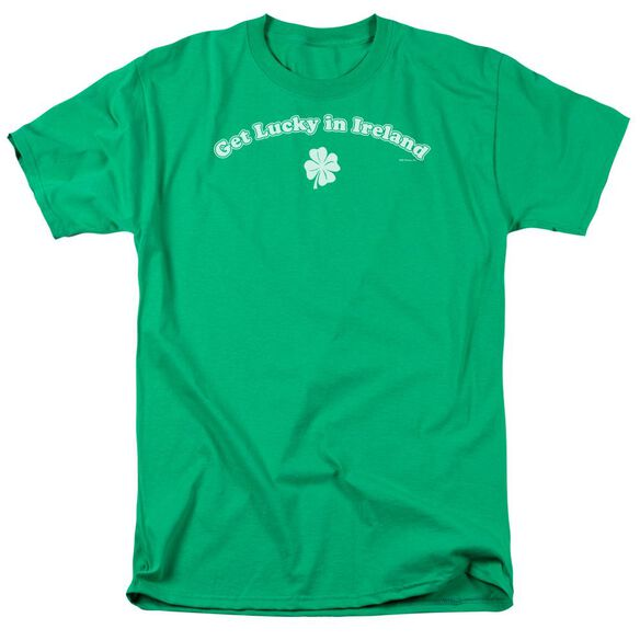 GET LUCKY IN IRELAND- ADULT 18/1 - KELLY GREEN T-Shirt
