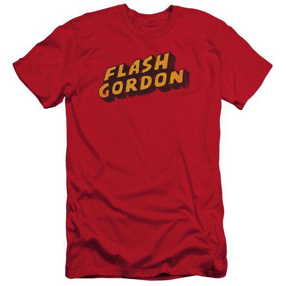 Flash Gordon Logo Short Sleeve Adult T-Shirt