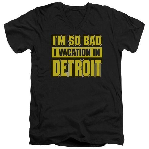 Vacation Wonderland Short Sleeve Adult V Neck T-Shirt