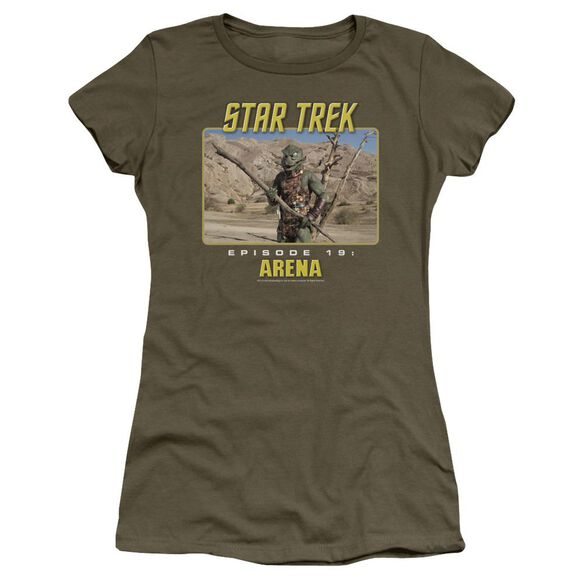 St Original Arena Short Sleeve Junior Sheer Military T-Shirt