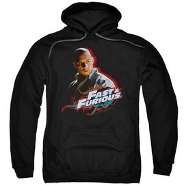 FAST AND THE FURIOUS TORETTO - ADULT PULL-OVER HOODIE - Black