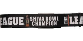 League Shiva Bowl Champion Seatbelt Belt