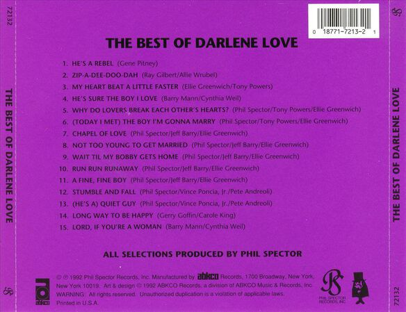 Best Of Darlene Love