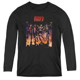 KISS DESTROYER COVER-WOMENS LONG