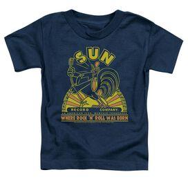 Sun Rooster Short Sleeve Toddler Tee Navy Sm T-Shirt