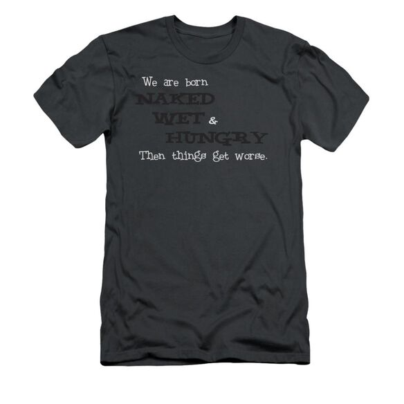 Naked Wet Hungry Short Sleeve Adult T-Shirt