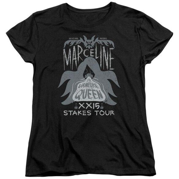 Adventure Time Marceline Concert Short Sleeve Womens Tee T-Shirt
