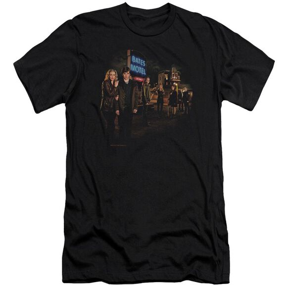 Bates Motel Cast Premuim Canvas Adult Slim Fit