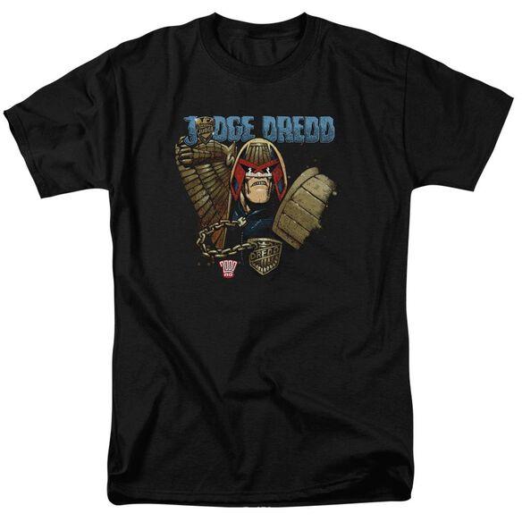 Judge Dredd Smile Scumbag Short Sleeve Adult T-Shirt