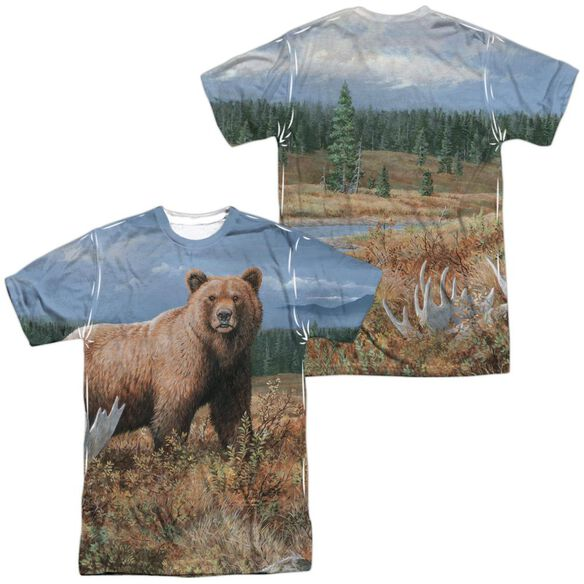 Wild Wings Autumn Splendor (Front Back Print) Short Sleeve Adult Poly Crew T-Shirt