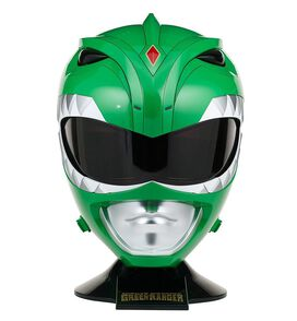 Power Rangers Mighty Morphin Green Ranger Helmet