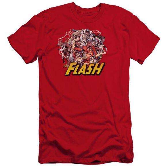 Jla Flash Family Premuim Canvas Adult Slim Fit