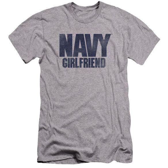 Navy Girlfriend Premuim Canvas Adult Slim Fit Athletic