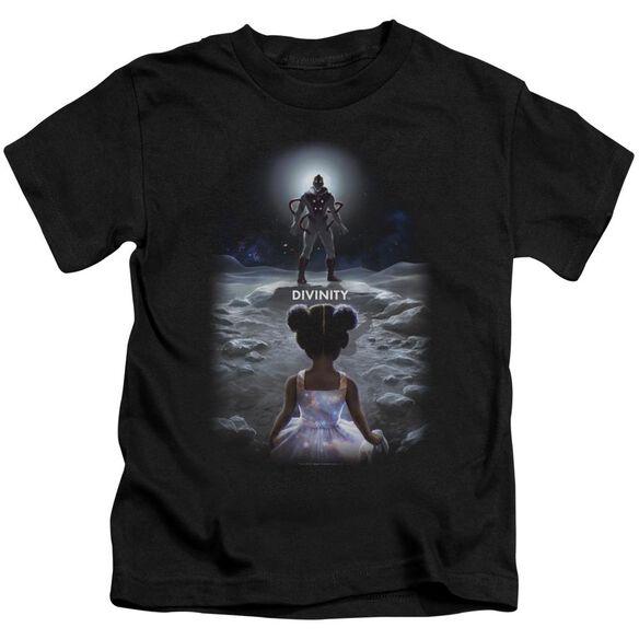 Valiant Divinity Child Short Sleeve Juvenile Black T-Shirt