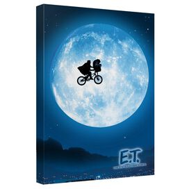 Et Moon Canvas Wall Art With Back Board