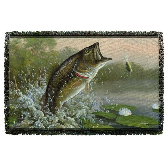 Wild Wings Summertime 2 Woven Throw