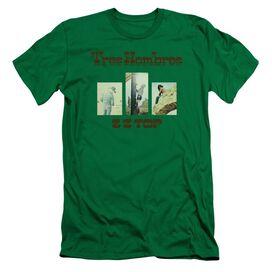 Zz Top Tres Hombres Short Sleeve Adult Kelly T-Shirt