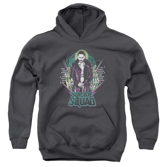 Suicide Squad Suicide Joker Youth Pull Over Hoodie
