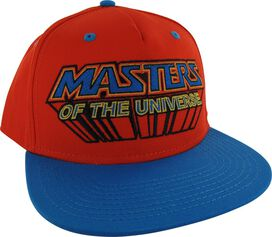 He Man Logo Sublimated Bill Snapback Hat
