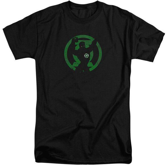 Dc Gl Symbol Knockout Short Sleeve Adult Tall T-Shirt