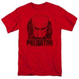 Predator Logo Short Sleeve Adult T-Shirt