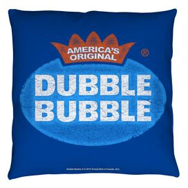 Dubble Bubble Vintage Logo Throw