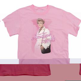 MURDER SHE WROTE AMATEUR SLEUTH - S/S YOUTH 18/1 - PINK T-Shirt