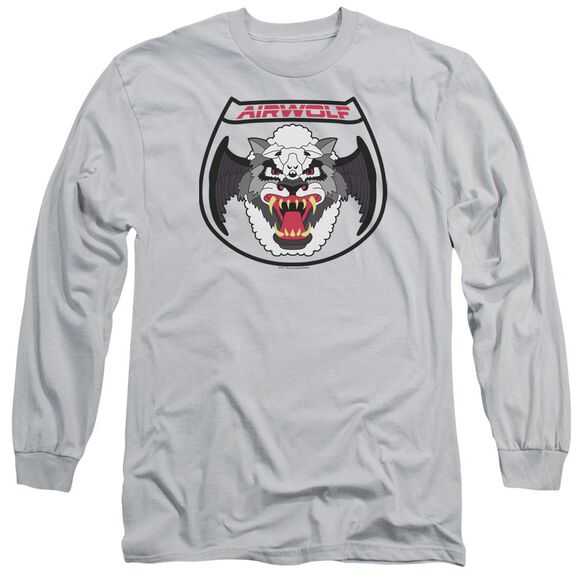 Airwolf Patch Long Sleeve Adult T-Shirt