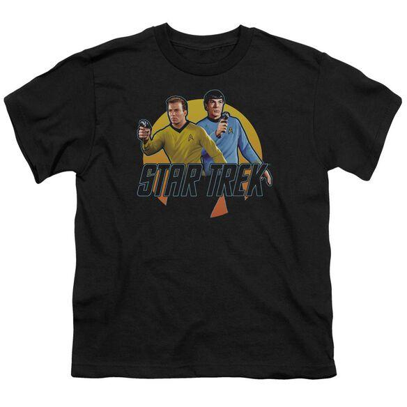 Star Trek Phasers Ready Short Sleeve Youth T-Shirt