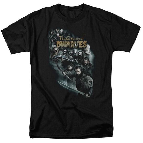 The Hobbit Company Of Dwarves Short Sleeve Adult T-Shirt