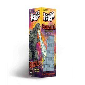 Jenga Godzilla