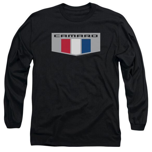 Chevrolet Chrome Emblem Long Sleeve Adult T-Shirt