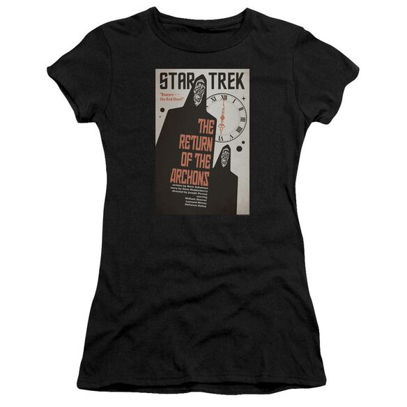 Star Trek Tos Episode 21 Short Sleeve Junior Sheer T-Shirt