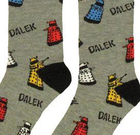 Doctor Who Logos Daleks 2 Pair Socks Set