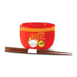 Dragon Ball Z Senzu Bean Ramen Bow & Chopstick Set