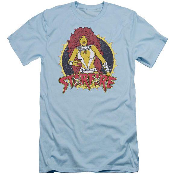 Dc Starfire Short Sleeve Adult Light T-Shirt