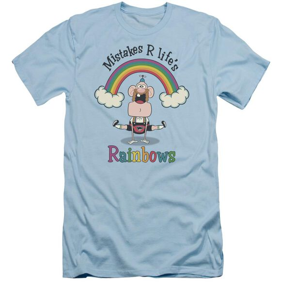 Uncle Grandpa Life's Rainbows Short Sleeve Adult Light T-Shirt