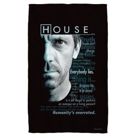 House Houseisms Beach Towel