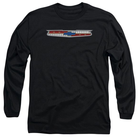 Chevrolet 56 Bel Air Emblem Long Sleeve Adult T-Shirt