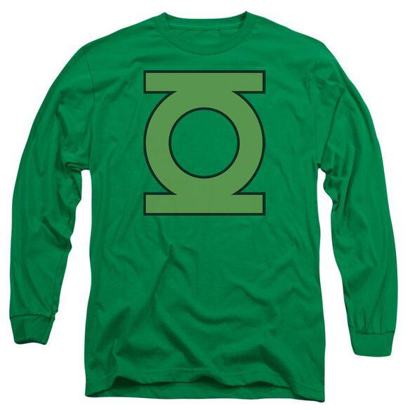 Dc Gl Emblem Long Sleeve Adult Kelly T-Shirt