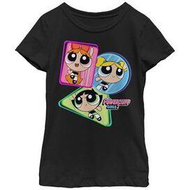 Powerpuff Girls Shape Trio Youth Girls Shirt
