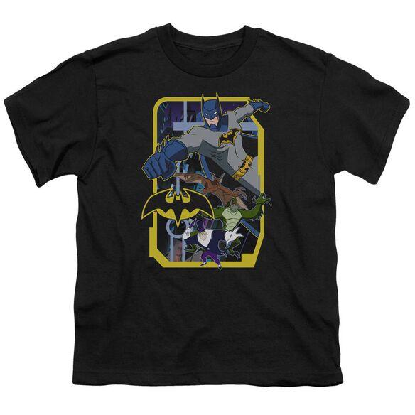 Batman Unlimited Unlimited Villains Short Sleeve Youth T-Shirt