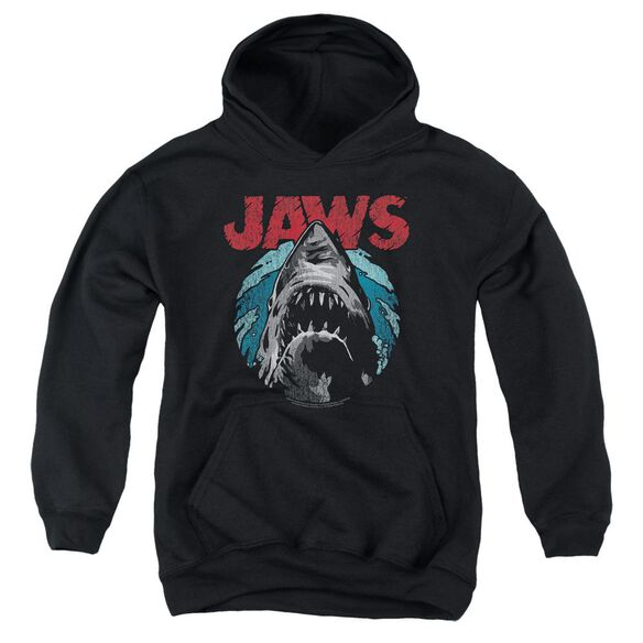 Jaws Water Circle Youth Pull Over Hoodie