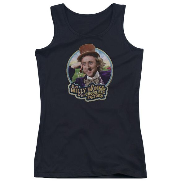 Willy Wonka And The Chocolate Factory Its Scrumdiddlyumptious Juniors Tank Top
