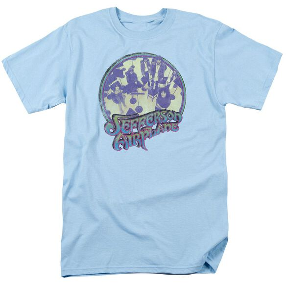 Jefferson Airplane Practice Short Sleeve Adult Light T-Shirt