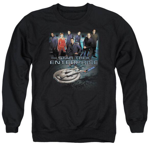Star Trek Enterprise Crew Adult Crewneck Sweatshirt