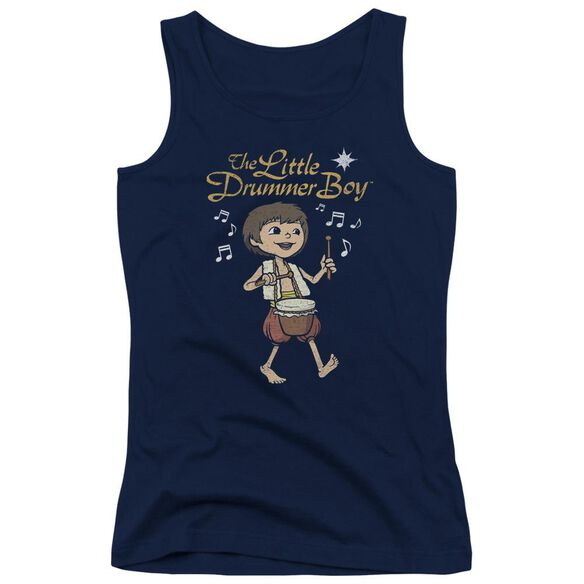 Little Drummer Boy Starlight Juniors Tank Top
