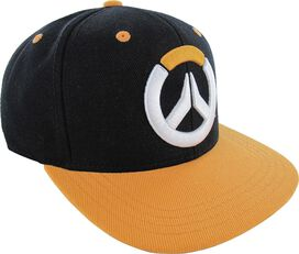 Overwatch Embroidered Logo Black Snapback Hat