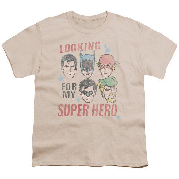 Jla My Super Hero Short Sleeve Youth T-Shirt